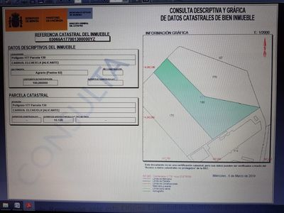 Ref:IPGG4046 Plot For Sale in Elche